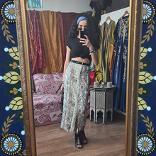 Load image into Gallery viewer, Straight Cut Printed Maxi Skirt
