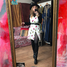 Load image into Gallery viewer, Mini Button Up Dress