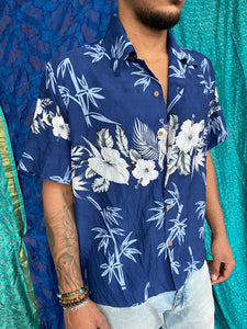 Hawaii Flower Print Shirt