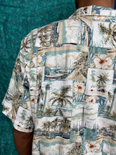 Load image into Gallery viewer, Hawaiian Lighthouse Printed Shirt