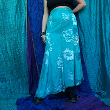 Load image into Gallery viewer, Asymmetric Shimmering Maxi Skirt
