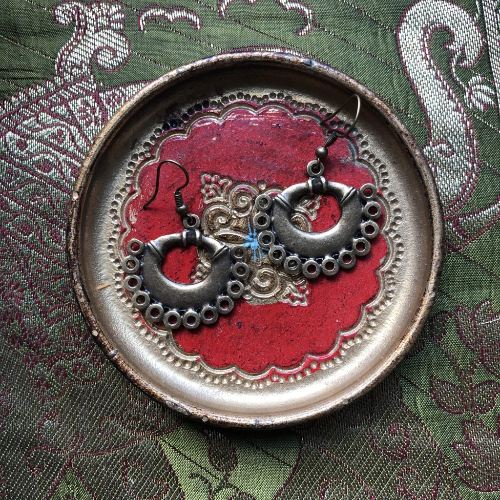 Traditional Colombian Drop Earrings