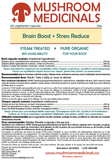 Brain Boost + Stress Reduce, 60 capsules