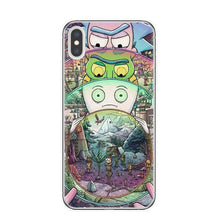 Load image into Gallery viewer, Rick and Morty Quality Silicone Case