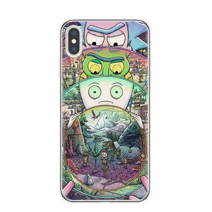 Rick and Morty Quality Silicone Case