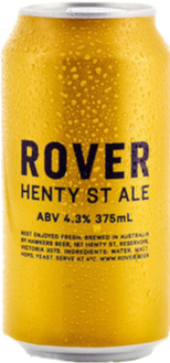 Hawkers Rover Henty St Ale