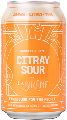 La Sirene Citray Sour can
