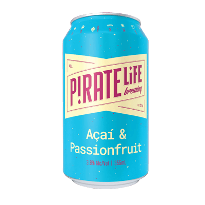 Pirate Life Acai and Passionfruit Sour