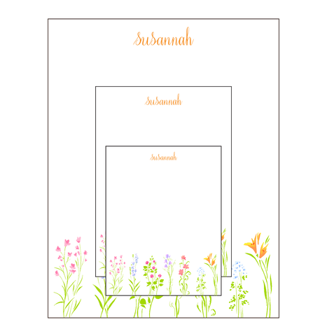 Camp Fill-In Notepad Set