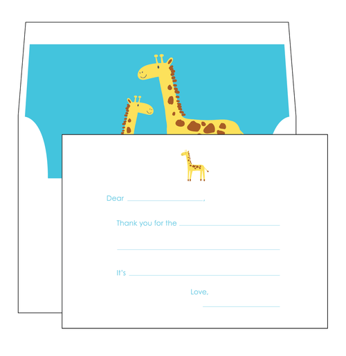 Giraffe Note Cards