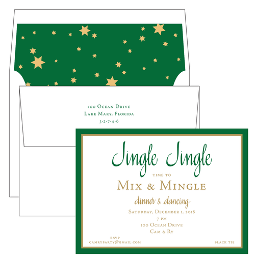Jingle Jingle Invitation