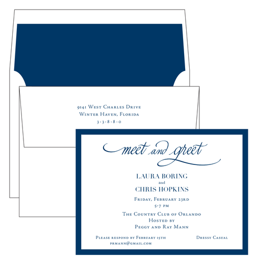 Meet and Greet Invitation