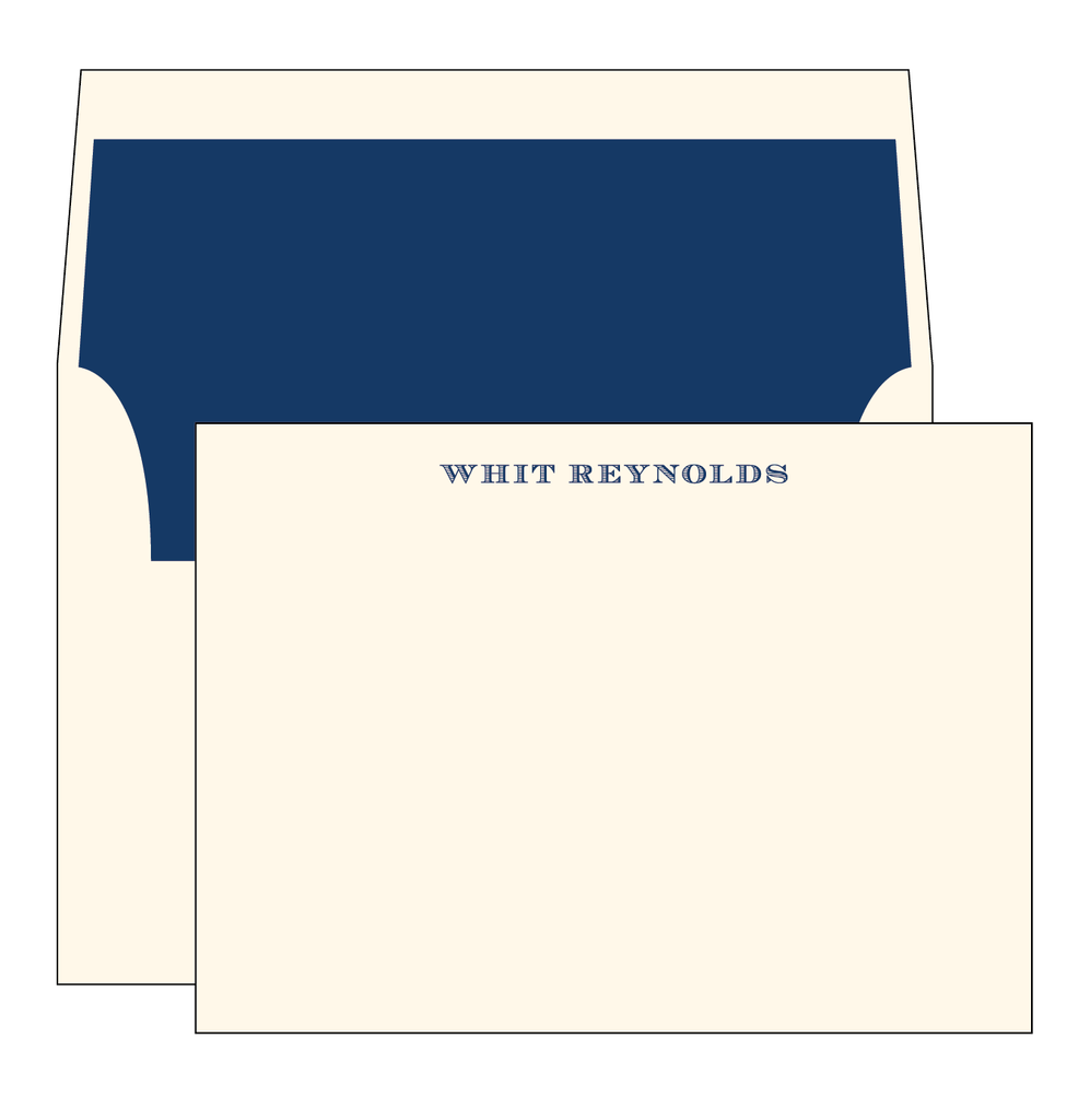 Whit Note Cards