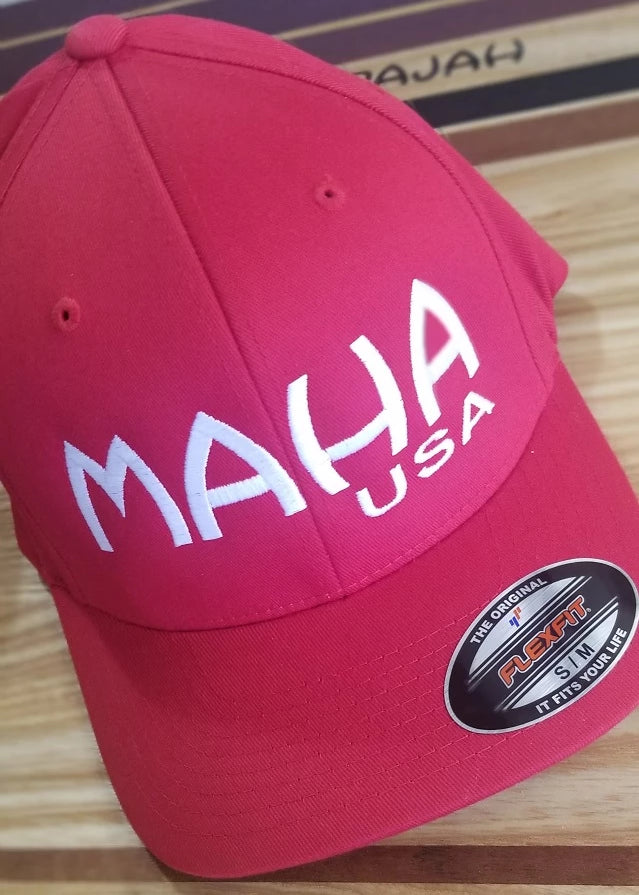 MAHA Flex Fitted Cap