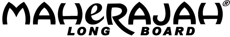 "Decal Logo 18"" & 24"" Maherajah Long Board"