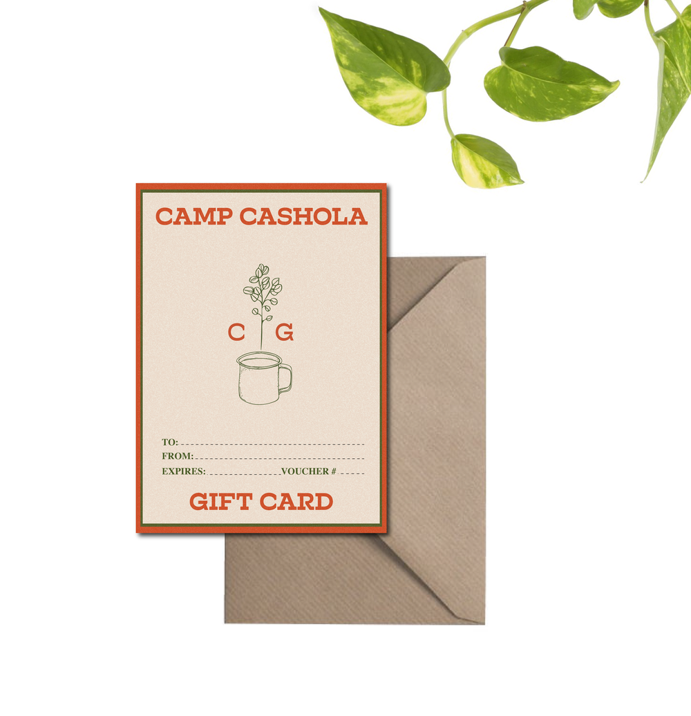ONLINE Gift Card - Camp Cashola
