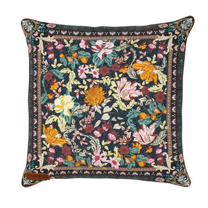 Wandering Folk - Cushion Cover - Emerald Forest
