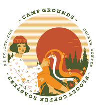 Load image into Gallery viewer, Floozy x Camp Grounds - T Shirt (Limited Edn)