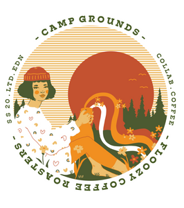 Floozy x Camp Grounds - T Shirt (Limited Edn)