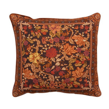 Load image into Gallery viewer, WanderingFolk_Cushion_Cover_pillow_campgrounds_coffee_retro_cushion_australian_floral