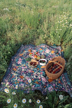Load image into Gallery viewer, Wandering_Folk_Rug_Picnici_Rug_Camp_Grounds_Campgrounds_Tamworth_Boho_Camping_rug_hippie_retro_vintage