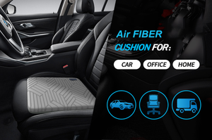 '-8°C  Cooling Car Seat Cushion - Breathable & Effectively Relieve Pressure