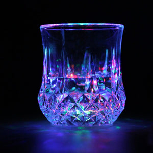 2020 New Automatic Water Activated Colorful Flashing LED Beer Glow Glasses