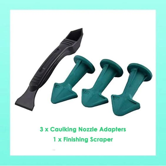 Silicone Caulking Nozzle Adapter- 3PCS SET