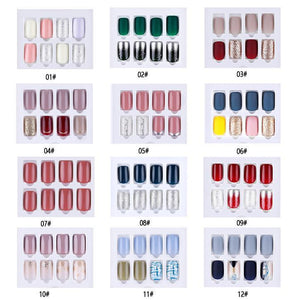 Reusable Full Cover Fake Nails