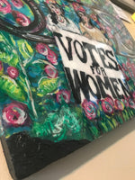 Votes for Women - Original Painting