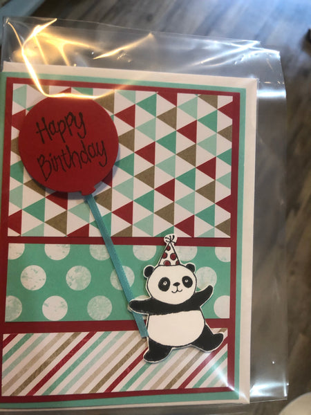 Happy Birthday- Hand made greeting cards