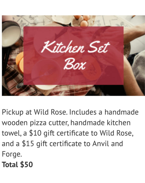 Kitchen Box  - Pick up at WildRose