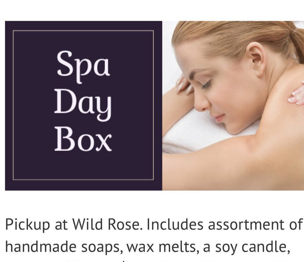 Spa Box -  up at WildRose