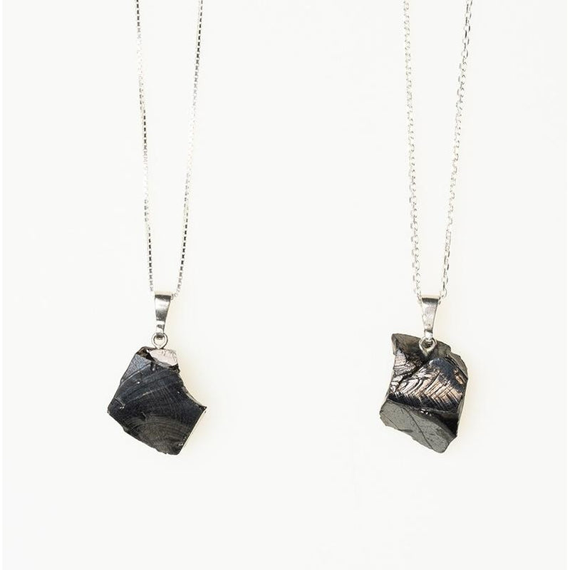 shungite necklace for emf protection