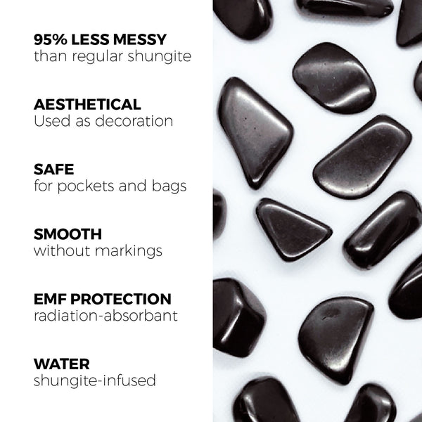 polished shungite stones benefits and uses