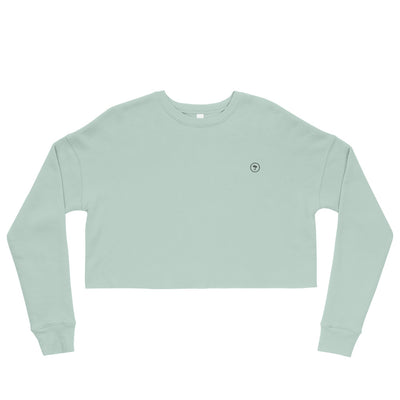 Sweat-Shirt Crop-Top Original - Dusty Blue - Sowll.com