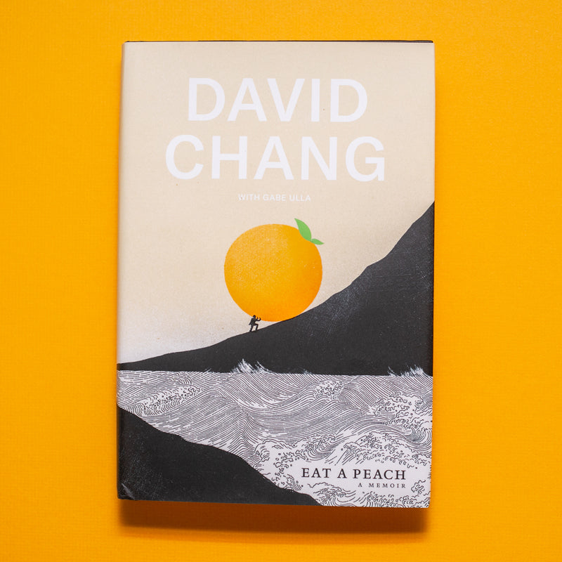 Eat A Peach Book, signed by David Chang