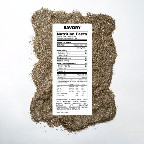 Savory Seasoned Salt Pouch