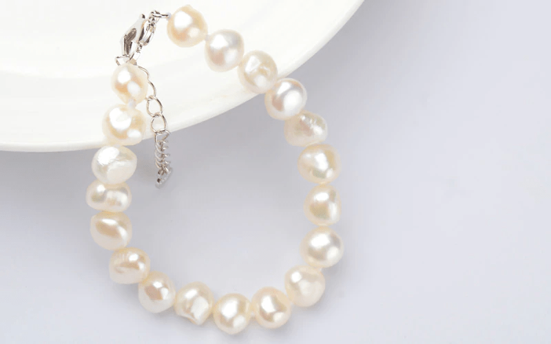 FRESHWATER NATURAL BAROQUE PEARL BRACELETS | SRIMOYEE FASHION WORLD