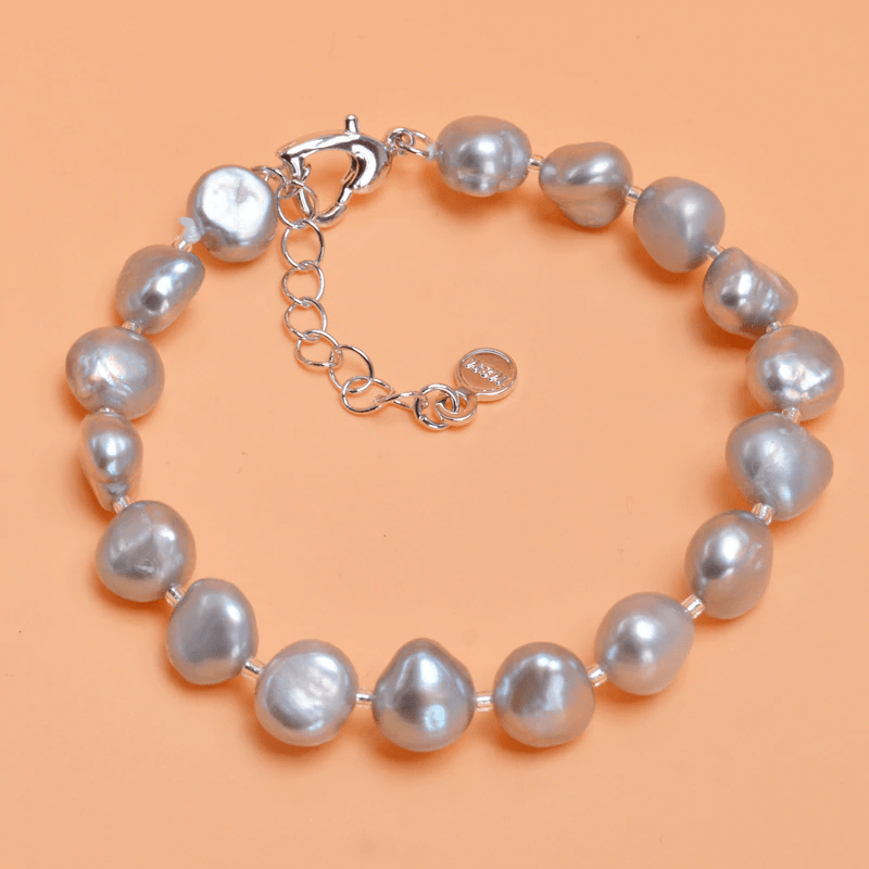 NATURAL FRESHWATER BAROQUE PEARL BRACELETS | SRIMOYEE FASHION WORLD