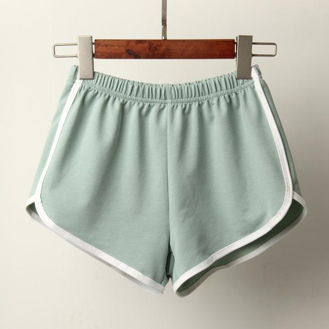 New Candy Color Anti Emptied Skinny Shorts