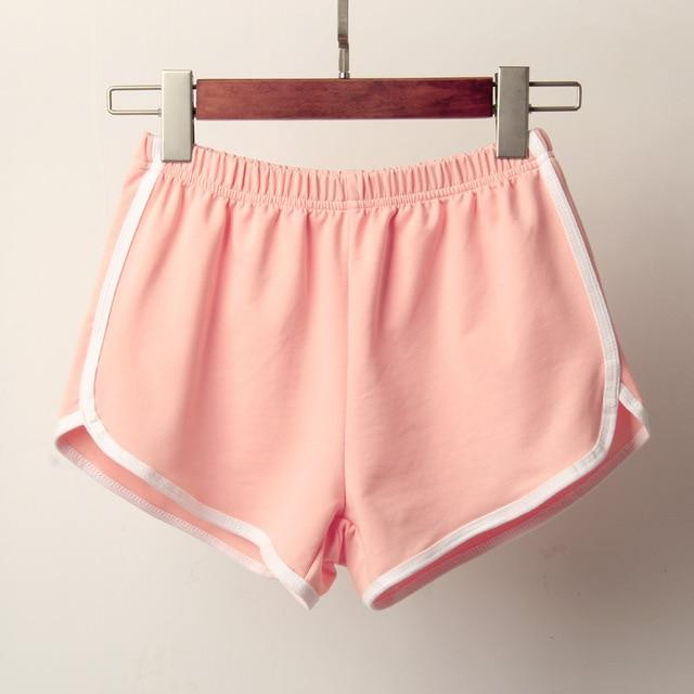 NEW CANDY COLOR ANTI EMPTIED SKINNY SHORTS | SRIMOYEE FASHION WORLD