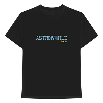 ASTROWORLD 2019 TOUR SHIRT - BLACK