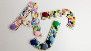 Colourful Alphabet Letters