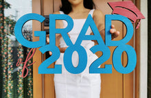 Load image into Gallery viewer, Grad 2020 Photo Prop