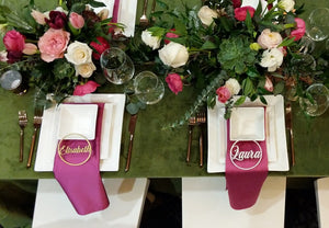 Circle Placecards