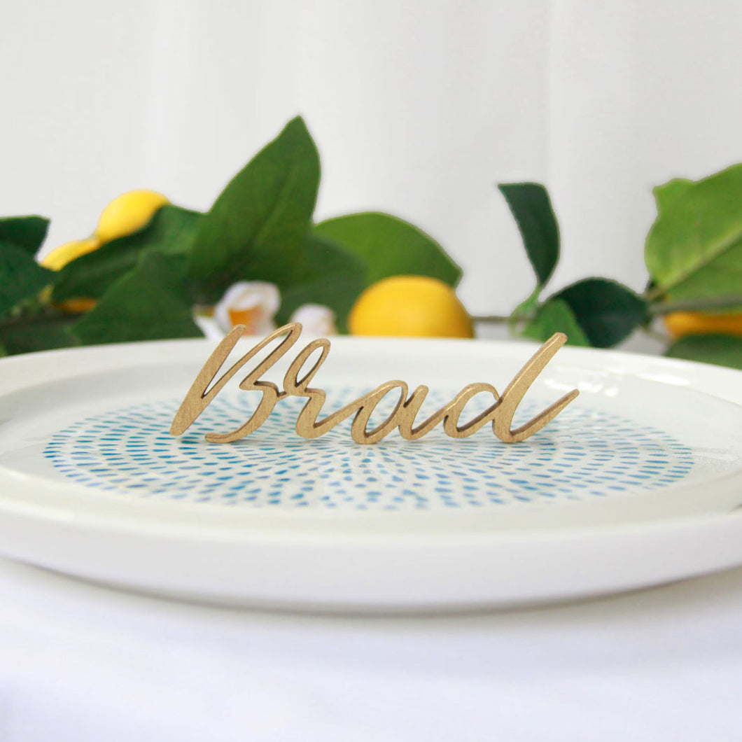 Name Cutout Placecards