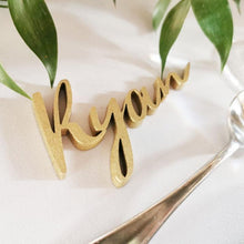 Load image into Gallery viewer, Name Cutout Placecards
