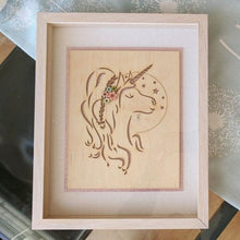 Load image into Gallery viewer, Unicorn Framed Art