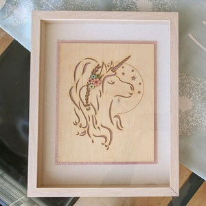 Unicorn Framed Art